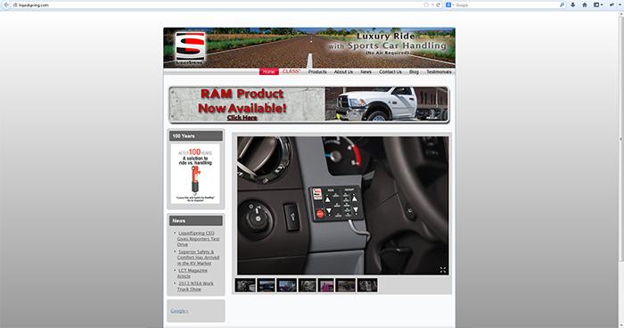 Liquid Spring Technologies Web Site Design