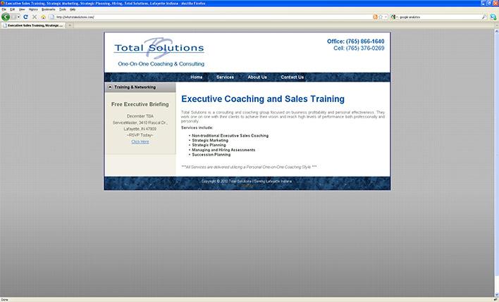 Total Solutions Web Site Design
