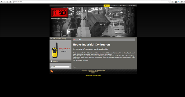 Tri-Esco Web Site Design